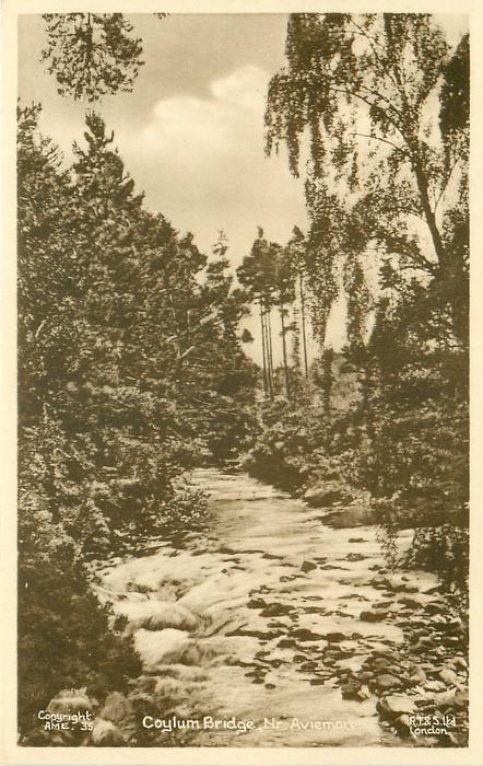 COYLUM BRIDGE, NR. AVIEMORE