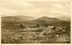 THE CAIRNGORMS FROM BARRIE'S GRAVE