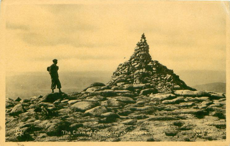 THE CAIRN OF CAIRNGORM