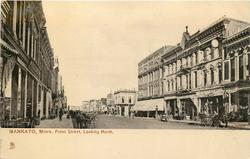 FRONT STREET, LOOKING NORTH