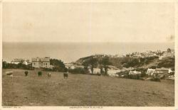 ABERPORTH FROM PLAS FIELD