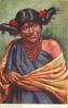 A MOQUI INDIAN GIRL