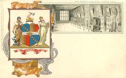 THE GREAT GALLERY, ASTON HALL