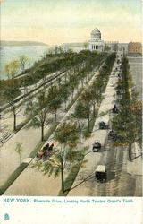 RIVERSIDE DRIVE, LOOKING NORTH TOWARDS GRANT'S TOMB