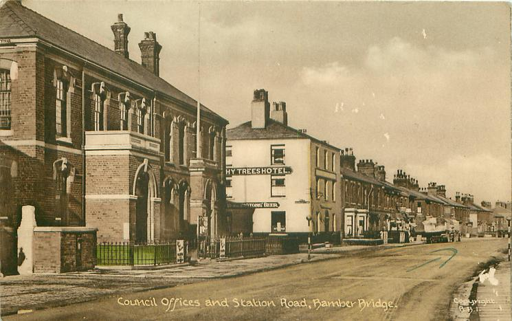 COUNCIL OFFICES AND STATION ROAD