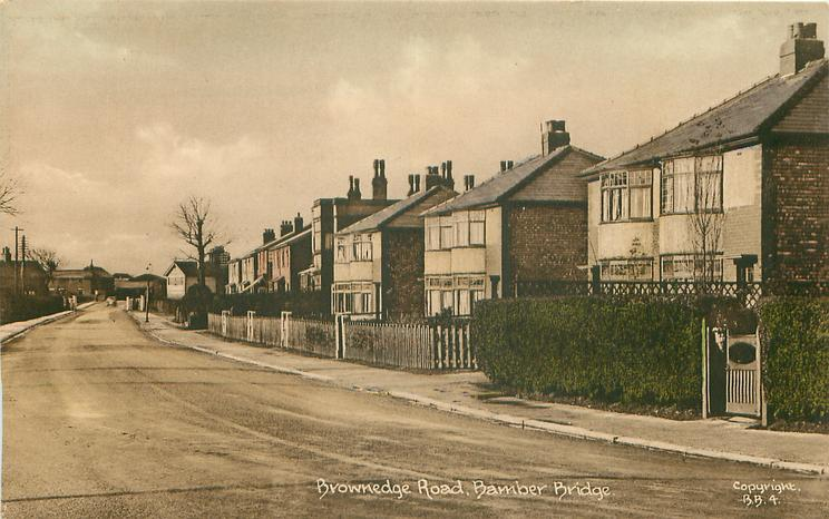 BROWNEDGE ROAD