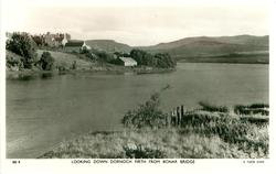 LOOKING DOWN DORNOCH FIRTH FROM BONAR BRIDGE