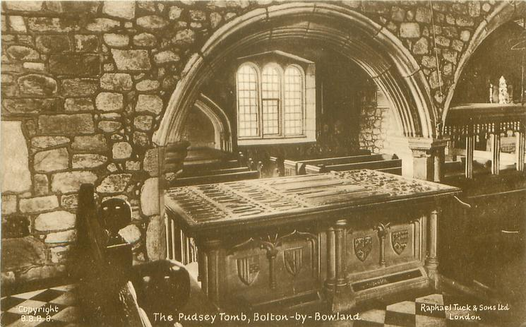 THE PUDSEY TOMB