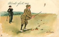 WORDS FAIL ME  golfer breaks his driver