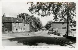 CHAWTON, JANE AUSTEN'S HOUSE