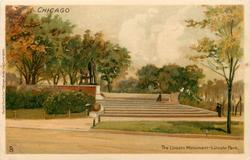 THE LINCOLN MONUMENT - LINCOLN PARK