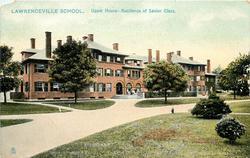 UPPER HOUSE - RESIDENCE OF SENIOR CLASS