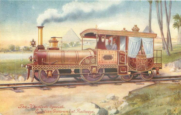 THE KHEDIVE'S SPECIAL, EGYPTIAN GOVERNMENT RAILWAYS
