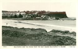 BALLYCASTLE AND THE STRAND FROM THE GOLF COURSE