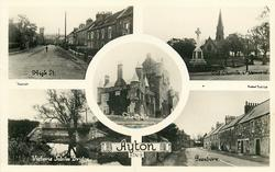 5 insets  HIGH STREET/OLD CHURCH & MEMORIAL/VICTORIA JUBILEE BRIDGE/THE CASTLE/BEANBURN