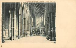THE NAVE FROM THE S.W.