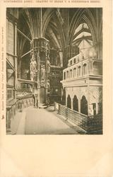 CHANTRY OF HENRY V & CONFESSOR'S SHRINE