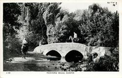 PACKHORSE BRIDGE, DUNSTER
