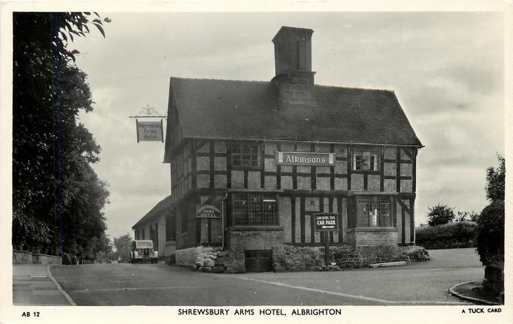 SHREWSBURY ARMS HOTEL
