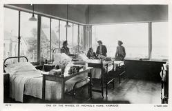 ONE OF THE WARDS, ST. MICHAEL'S HOME