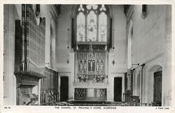 THE CHAPEL, ST. MICHAEL'S HOME