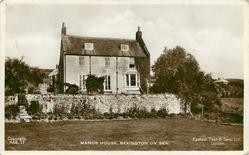 MANOR HOUSE, BEXINGTON ON SEA