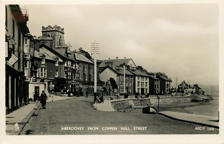 ABERDOVEY FROM COPPEN HILL STREET