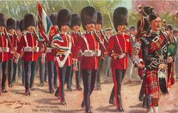 THE SCOTS GUARDS, THE KING'S GUARD