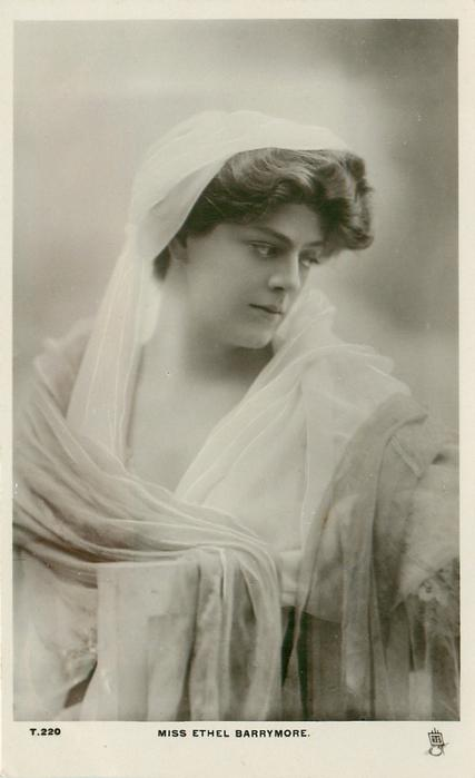 MISS ETHEL BARRYMORE