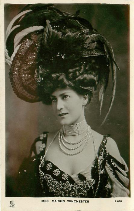 Miss Marion Winchester Tuckdb Postcards