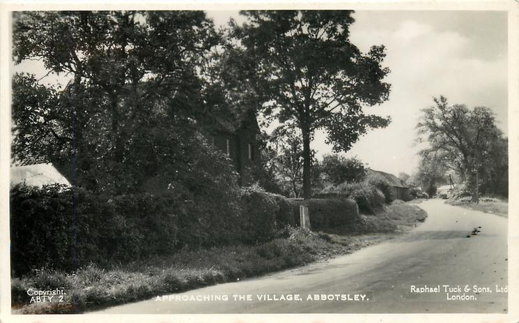 APPROACHING THE VILLAGE
