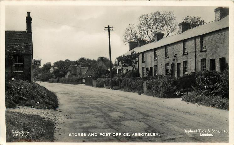 STORES AND POST OFFICE