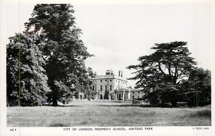 CITY OF LONDON FREEMAN'S SCHOOL, ASHTEAD PARK