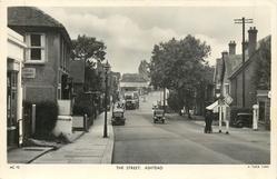 THE STREET, bus facing away