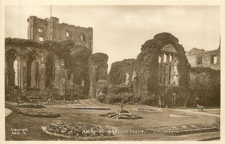 ASHBY-DE-LA-ZOUCH  castle