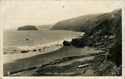 PORTH YSGO BEACH, RHIW