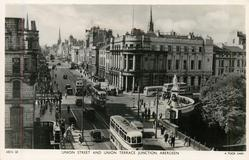 UNION STREET AND UNION TERRACE JUNCTION