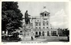 WALLACE STATUE AND H.M. THEATRE
