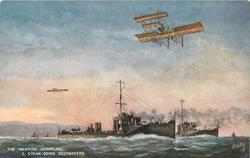 THE VALKYRIE AEROPLANE &  OCEAN GOING DESTROYERS
