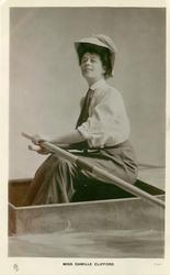 MISS CAMILLE CLIFFORD  rowing