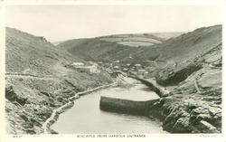 BOSCASTLE FROM HARBOUR ENTRANCE