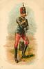 11TH PRINCE ALBERT'S OWN HUSSARS  hussar leans on sword, smoking pipe