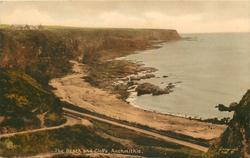 THE BEACH AND CLIFFS