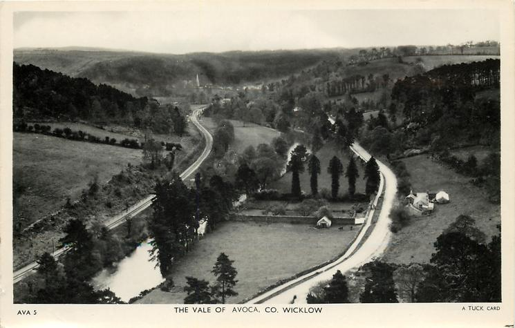 THE VALE OF AVOCA,  no bridge