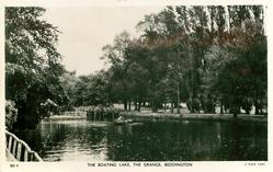 THE BOATING LAKE, THE GRANGE