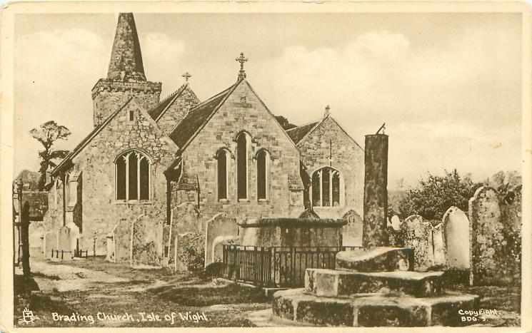 BRADING CHURCH, ISLE OF WIGHT