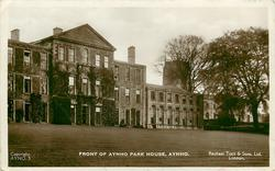 FRONT OF AYNHO PARK HOUSE