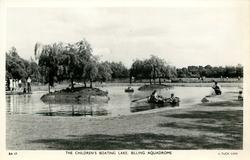 THE CHILDREN'S BOATING LAKE