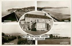 5 insets THE PROMENADE/THE BAY/BLUE ANCHOR HOTEL/THE WATCHET ROAD/BLUE ANCHOR BAY