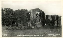 BROMHOLM PRIORY RUINS